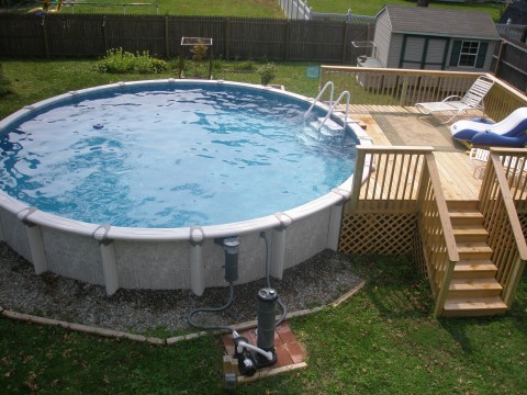New 26 foot round Swim Pool
