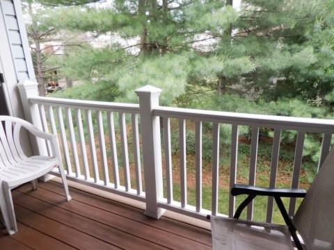 Rear deck View