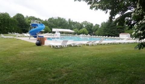 Swim Pool Resting Area