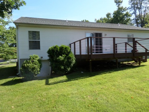 Rear Yard and Deck