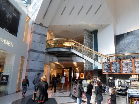 City Center Shops- ties into Residences